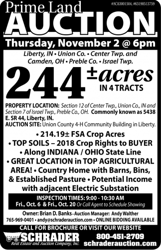 Prime Land Auction