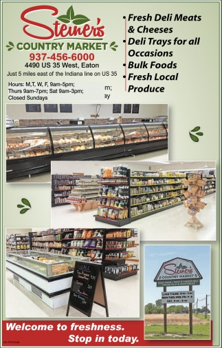 Meats, Cheeses, Deli, Bulk Foods, Produce