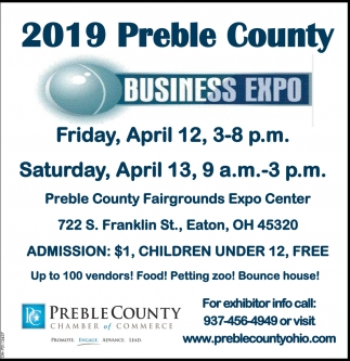 At Preble County Fairgrounds Expo Center