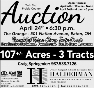 Auction April 24th