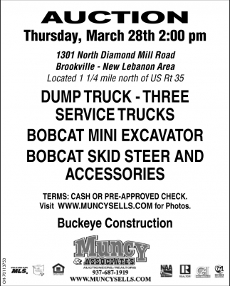Auction March 28th