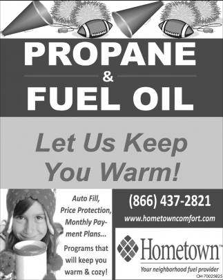 Propane & Fuel Oil