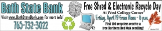 Free Shred & Electronic Recycle Day