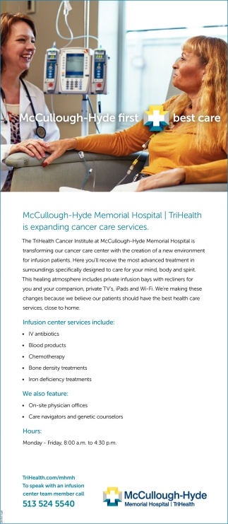 TriHealth is expanding cancer care services