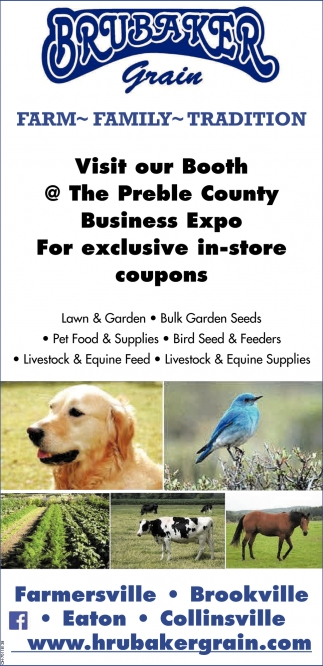 Visit our Booth @The Preble County Business Expo For exclusive in-store coupons