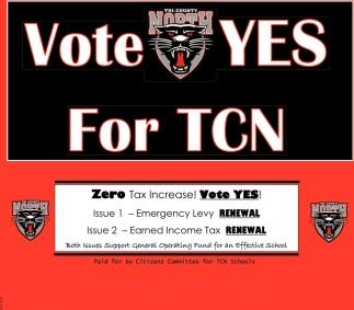 Zero Tax Increase - Vote Yes!