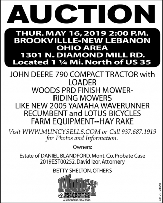 Auction May 16