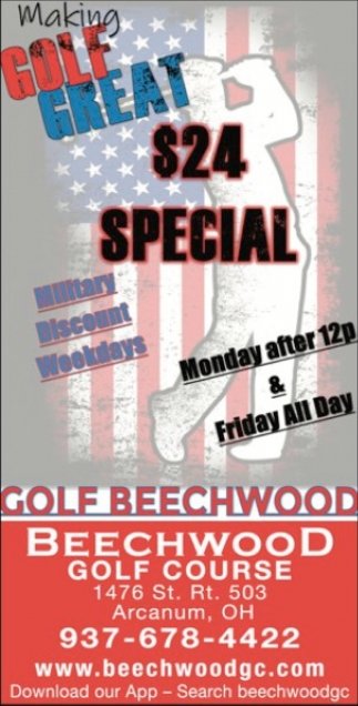Making Golf Great $24 Special