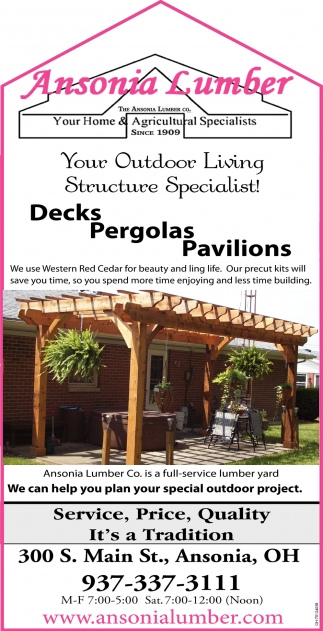 Your Outdoor Living Structure Specialist