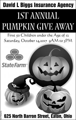 1st Annual Pumpkin Give Away