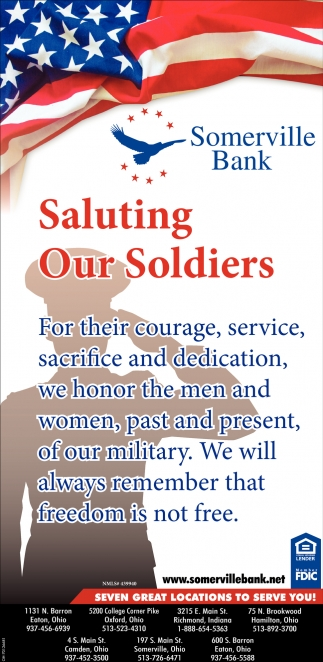 Saluting Our Soldiers