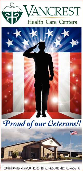 Proud of our Veterans!