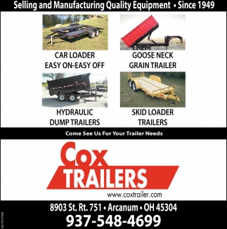 Selling and Manufacturing Quality Equipment Since 1949
