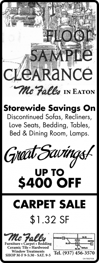 Storewide Savings