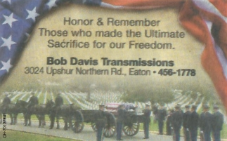 Honor & Remember Those who made the Ultimate Sacrifice for our Freedom