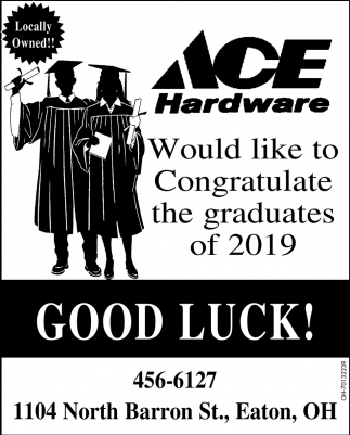 Would like to Congratulate the graduates of 2019