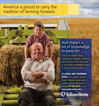 America is proud to carry the tradition of farming forward