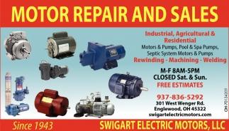 Motor Repair and Sales