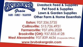 Livestock Feed & Supplies