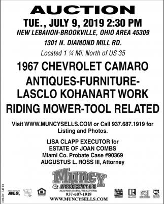 Auction July 9