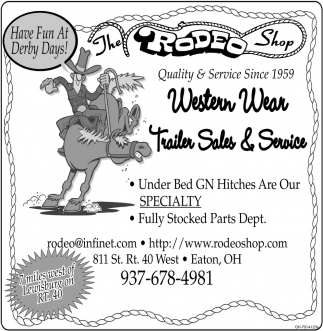 Western Wear Trailer Sales & Service