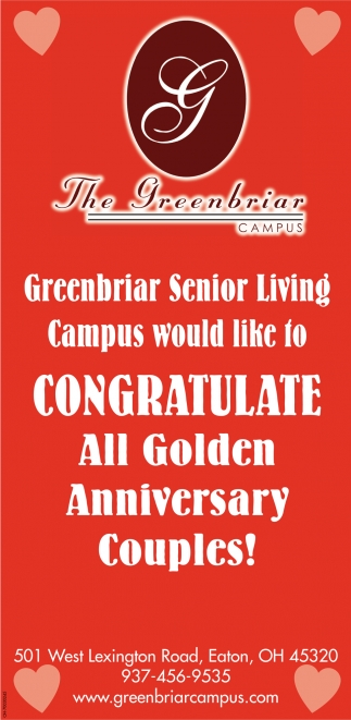 Congratulate All Golden Anniversary Couples