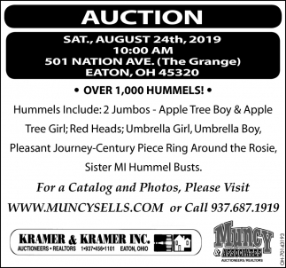 Auction August 24th