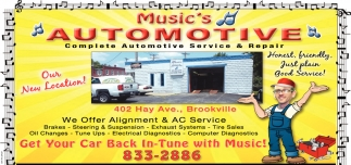 Complete Automotive Service & Repair