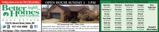 Open HouseSunday 1 - 3 pm