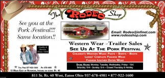 See you at the Pork Festival! same Location!