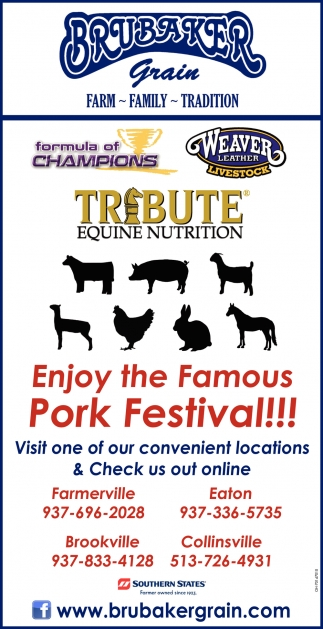 Enjoy the Famous Pork Festival!