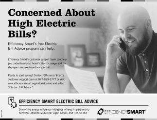 Concerned About High Electric Bills?