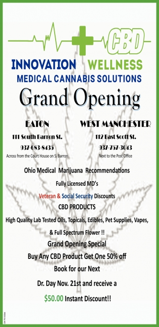 Medical Cannabis Solutions - Gran Opening