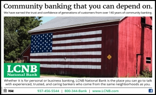 Community banking that you can depend on