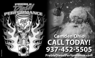Camden Ohio - Call Today
