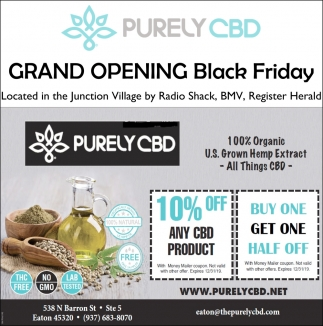 Grand Opening Black Friday