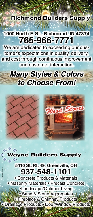 Many Styles & colors to Choose From!