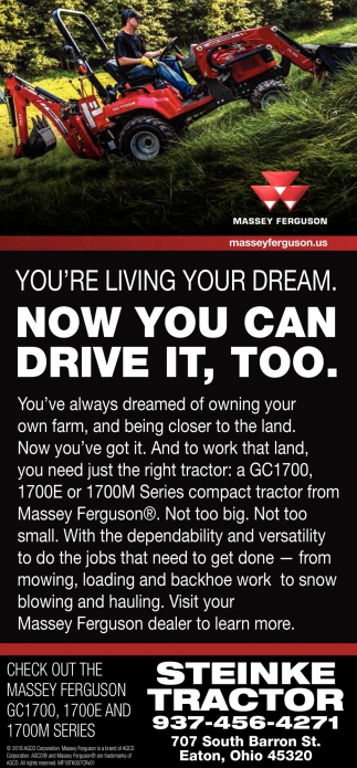 You're living your dream. Now you can drive it, too