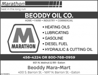 Heating oils, lubricating, gasoline, diesel fuel