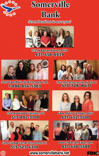 Seven locations to serve you!