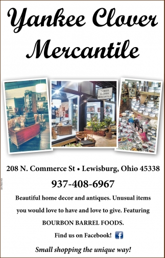 Home Decor And Antiques Yankee Clover Mercantile