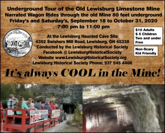 Underground Tour of the Old Lewisburg Limestone Mine