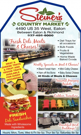 Fresh Deli Meats & Cheeses