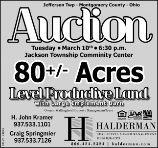 Auction - March 10th