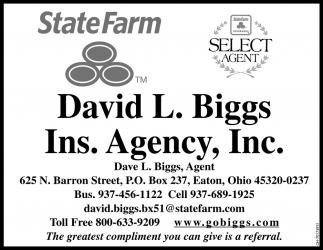 David L. Biggs, Agent