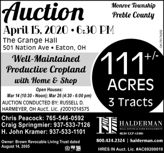 Auction - April 15