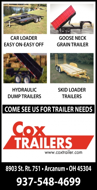 Come See Us for Trailer Needs
