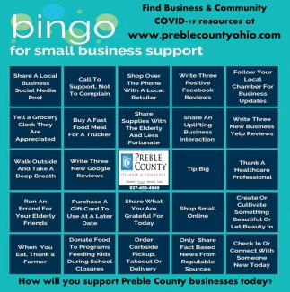 Bingo for Small Business Support