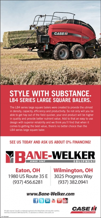 Case IH LB4 Series Large Square Balers