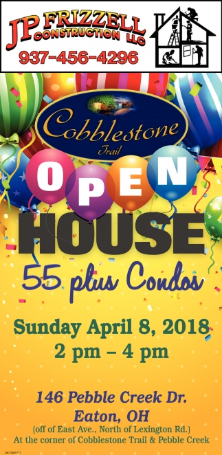 Cobblestone Trail Open House